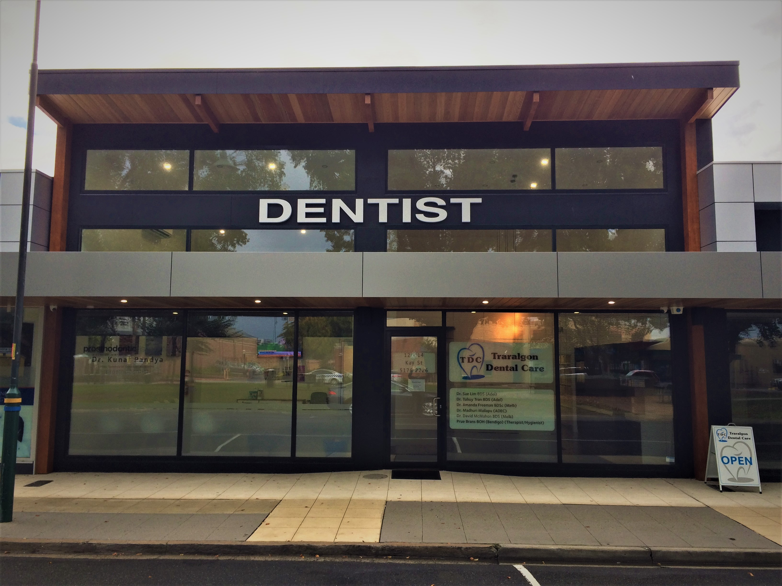 Front of Traralgon Dental Care